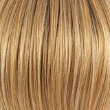 Hair fragment as a background composition Royalty Free Stock Images