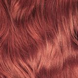Hair fragment as a background composition Royalty Free Stock Photos