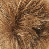 Hair fragment as a background composition Stock Images