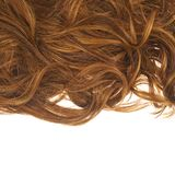 Hair fragment over the white Stock Photo