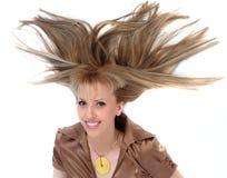 Hair-headdres-coiffure Stock Image