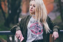 Hair, Human Hair Color, Blond, Girl Royalty Free Stock Photography
