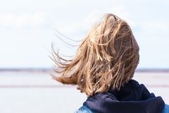 Hair, Human Hair Color, Girl, Water royalty free stock photography