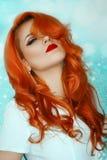 Hair, Human Hair Color, Red Hair, Orange Stock Photography