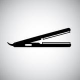 Hair iron design Stock Photography