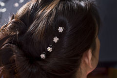 Hair jewelry Royalty Free Stock Photography