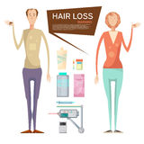 Hair Loss Drugs Concept Royalty Free Stock Photo
