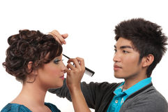 Hair And Make Up Stock Photo