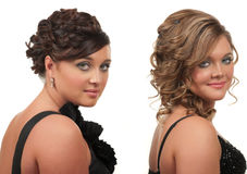 Hair And Make Up Royalty Free Stock Images