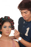 Hair and Make Up Stock Image