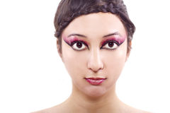 Hair and Make Up Royalty Free Stock Photography