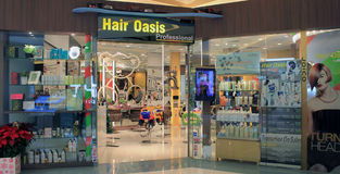 Hair Oasis in hong kong Stock Photography