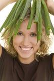hair onions spring στοκ φωτογραφία με δικαίωμα ελεύθερης χρήσης
