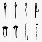 Hair pins Stock Photo