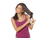 Hair problems Stock Images