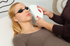 Hair Removal Stock Photo