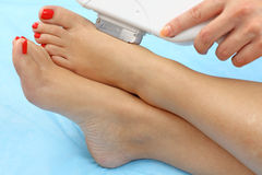 Hair removal stock images