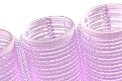 Hair rollers Royalty Free Stock Image