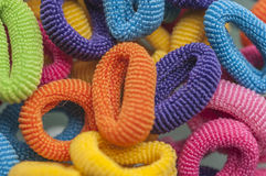 Hair rubber bands series 01 Stock Photography