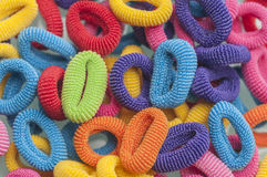 Hair rubber bands series 02 Royalty Free Stock Image