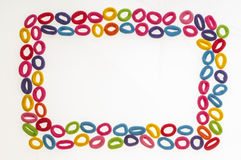 Hair rubber bands series 04 Royalty Free Stock Photo