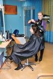 In a hair salon Stock Photos