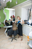 Hair salon Royalty Free Stock Photos