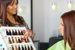 Hair salon.   Stock Images