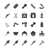 Hair Salon Cool Vector Icons 1 Stock Images