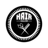 Hair salon design Stock Images