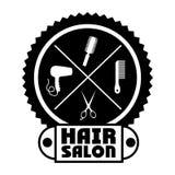 Hair salon design Royalty Free Stock Photo