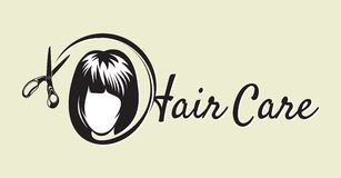 Hair Salon design Stock Images