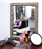 Hair salon equipment Stock Photography