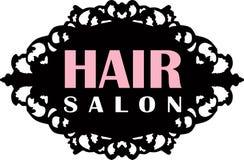 Hair Salon Logo Stock Images