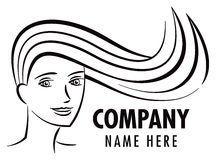 Hair Salon Logo Stock Photos