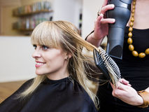 Hair Salon situation Royalty Free Stock Photography