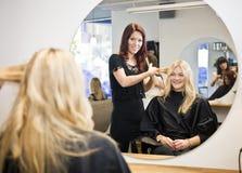 Hair Salon situation Stock Photos