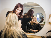 Hair Salon situation Royalty Free Stock Photos
