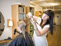 Hair Salon situation Stock Photography