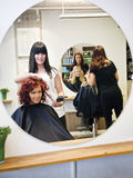 Hair salon situation Stock Photos