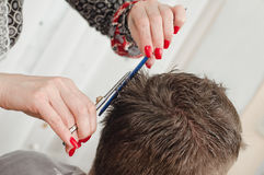 Hair Salon situation Royalty Free Stock Photo