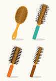 Hair saloon design Stock Image