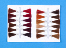 Hair Samples For Sale Royalty Free Stock Images