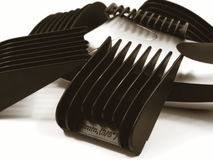 Hair Shaver and Clips Stock Image