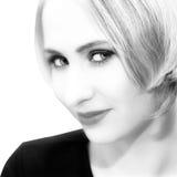 hair short woman young Στοκ Εικόνες