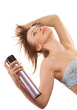 Hair spray Stock Image