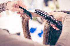 Hair Straighteners Royalty Free Stock Photo