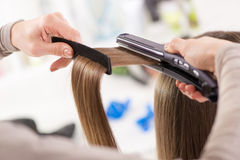 Hair Straighteners. Stock Images