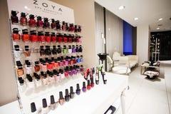Hair, Nails & Beauty Salon. Hair studio,beauty salon, Hair cuts, styles & colour,Beauty treatments,cosmetic treatments for men and women Stock Images