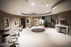 Hair, Nails & Beauty Salon. Hair studio,beauty salon, Hair cuts, styles & colour,Beauty treatments,cosmetic treatments for men and women Royalty Free Stock Image